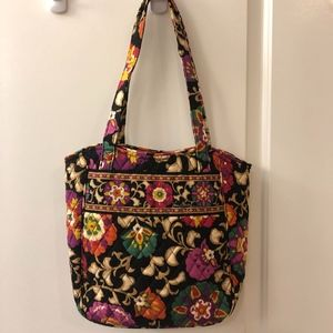 NWOT Vera Bradley Suzani (Retired) Bucket Tote Bag